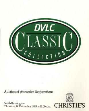 Christie's 1989 auction catalogue
