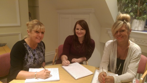 Linda Davies, DVLA (left) Laura Skinner (middle) and Irena Lediard (right), Lex Autolease