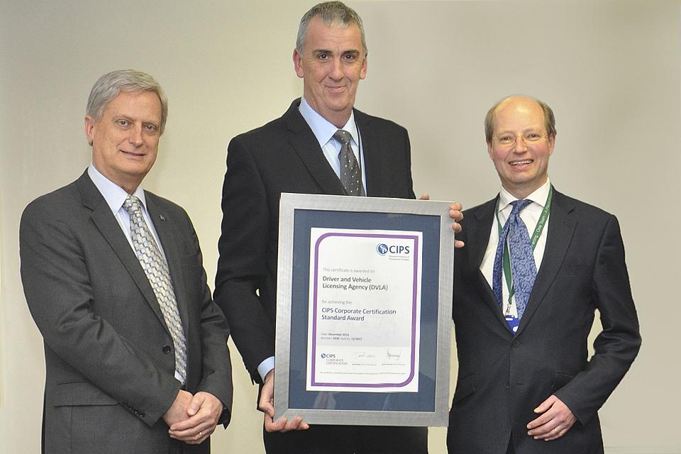 DVLA attains CIPS Corporate Certification - Inside DVLA