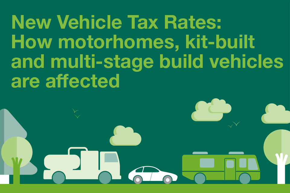 New vehicle tax rates how motorhomes kitbuilt and multistage